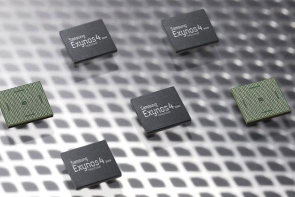 Samsung Exynos 4 Quad Core Prozessor (Quelle: Newswire)