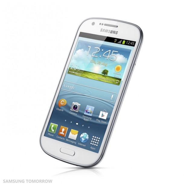 Das Samsung Galaxy Express hält sich designtechnisch am Galaxy S3 an.
