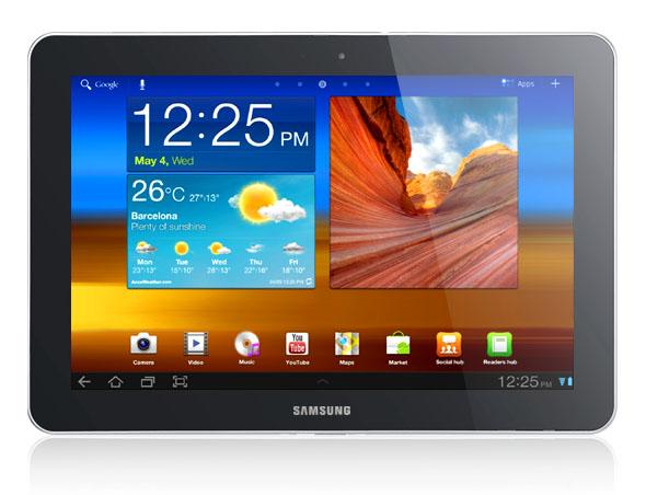 Samsung Galaxy Tab 10.1. Foto: Samsung.