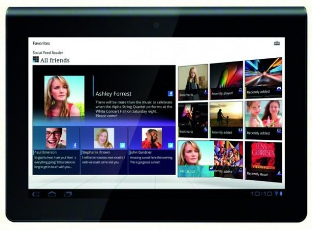 Der Nachfolger des Sony Tablet S soll mit Full-HD Display und Quad Core CPU auf den Markt kommen. Foto: Sony.