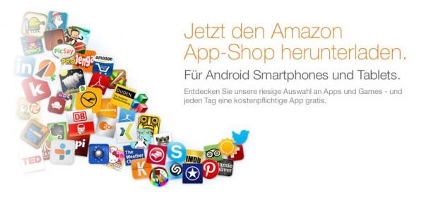 Im Amazon App-Shop wird täglich eine eigentlich kostenpflichtige App kostenlos zum Download angeboten. Foto: Amazon.de.