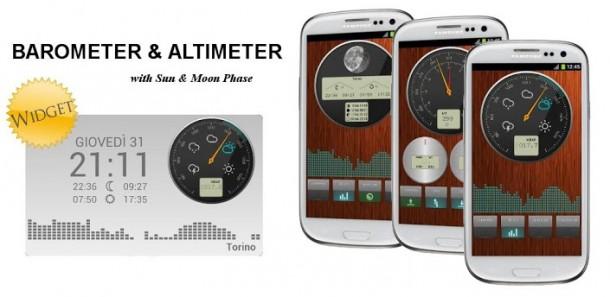 Barometer-Apps wie jene von Alessandro Rosso könnten zukünftig bei der genauen Vorhersage von Gewittern helfen.