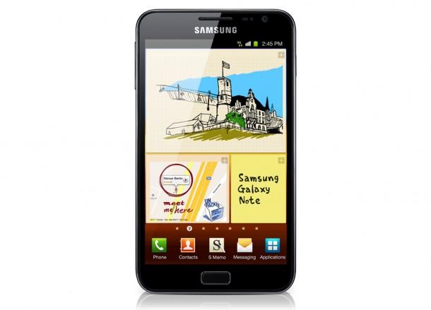 Das Samsung Galaxy Note könnte schon im September einen Nachfolger bekommten. Foto: Samsung.