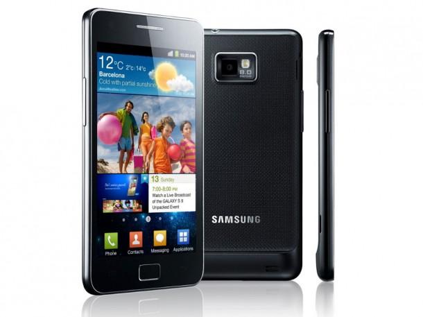 Neben einigen anderen Smartphones ist auch das Samsung Galaxy S2 Ziel des Verkaufsverbotes von Apple.