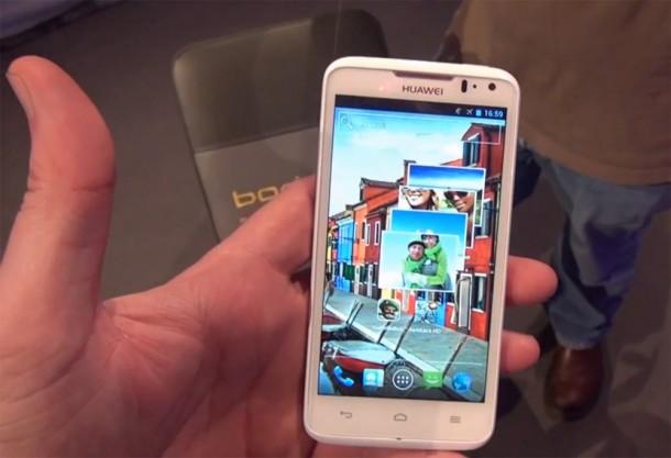 Das Huwai Ascend D1 Quad XL Smartphone mit 4,5 Zoll Display soll nun doch seinen Weg nach Deutschland schaffen. Foto: Youtube.com.