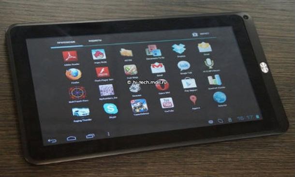 Das Hyunday HT 10 B kommt mit einem 10,1 Zoll großen Display und der selben technischen Ausstattung wie das 9,7 Zoll Tablet. Foto: gizbot.com.