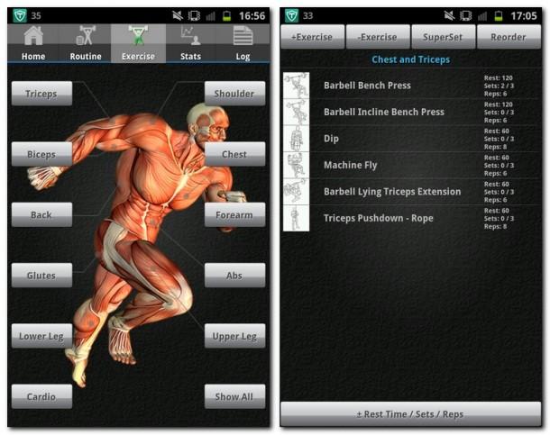 'JEFIT Pro - Workout & Fitness' verwandelt dein Smartphone in einen umfangreichen Personal Trainer.