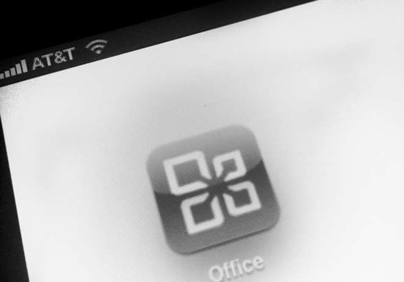 Microsoft Office für Android. Foto: thedaily.com