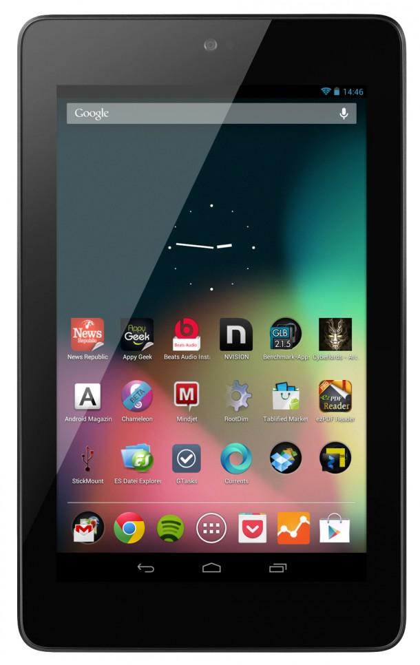 Der Nachfolger des Nexus 7 soll mit einem Qualcomm-Prozessor ausgestattet sein.