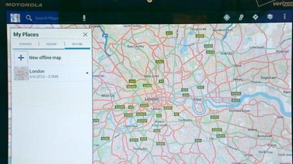 Die Kartenanwendung Google Maps soll auf Android Geräte eine bessere Offline Funktion erhalten. Foto: Engadget.com.