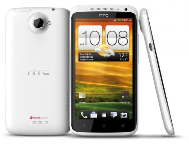 Das HTC One X ist derzeit HTC's Spitzenmodell.