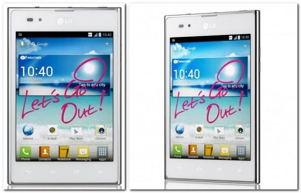Das zuerst nur in Japan und Süd Korea erhältliche LG OptimusVu soll nun weltweit verkauft werden. Foto: LG.