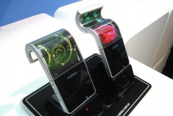 Samsungs flexible Amoled Displays. Foto:androidcommunity.com