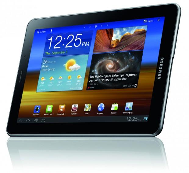 Die aktuelle Tablet-Generation von Samsung zeigt erste Alterserscheinungen...