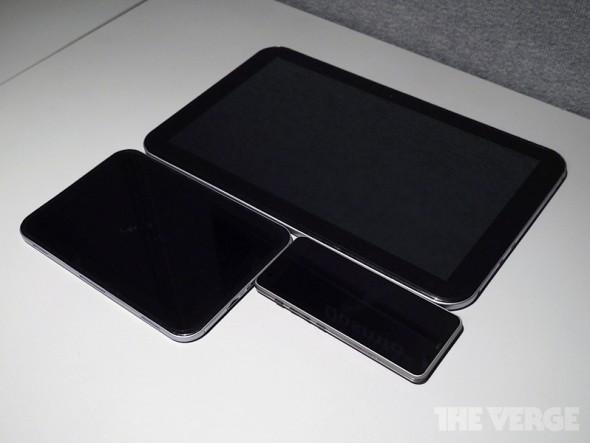 Toshibas Formfaktoren für Tablets: Foto: TheVerge.com