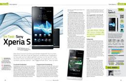 Im Test: Sony Xperia S