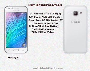 galaxy j2 full specification & price in bangladesh