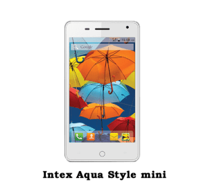Intex Aqua style mini price in banglades
