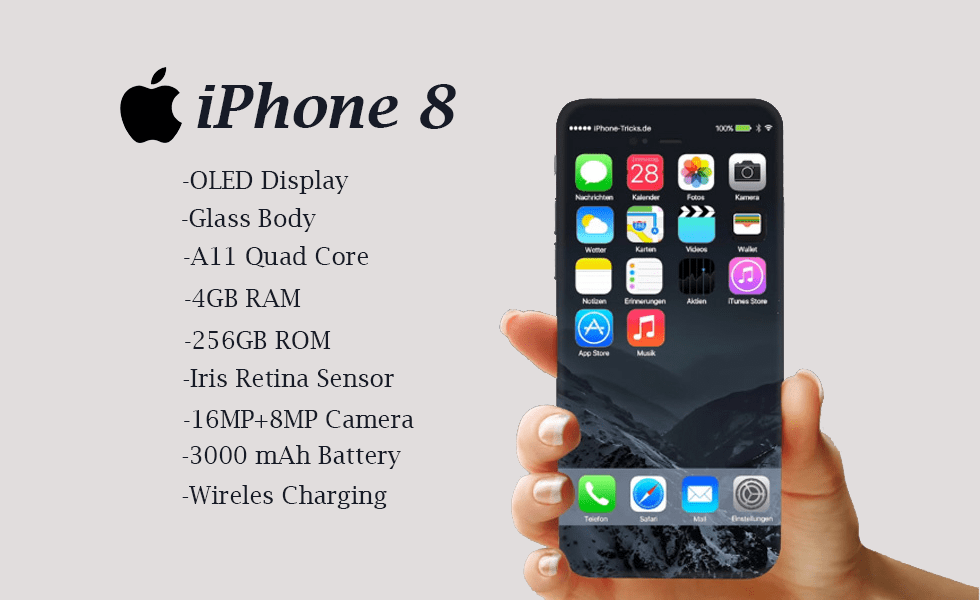 Apple iPhone 8- Release Date & Specifications Rumors ...