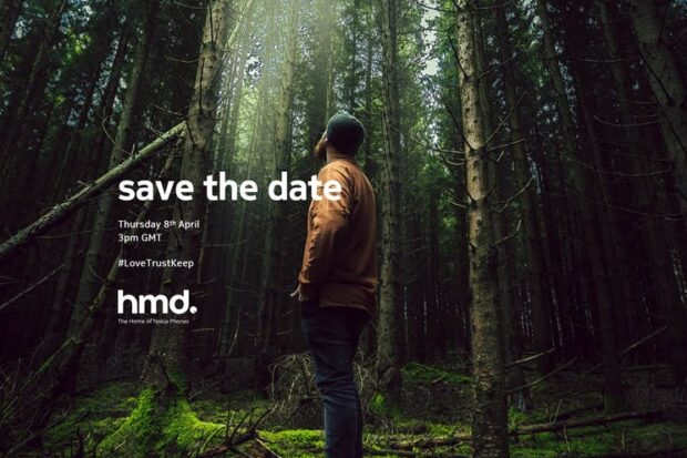 Nokia-evenement op 8 april