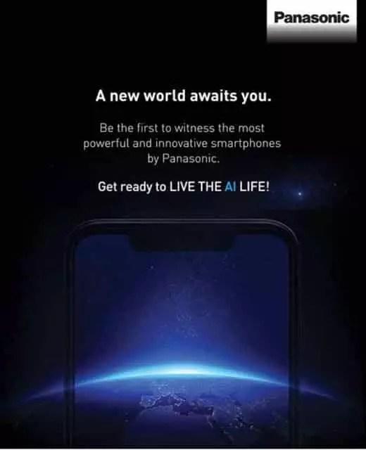 Panasonic Mengumumkan Handphone dengan Layar Notch pada Tanggal 4 Oktober