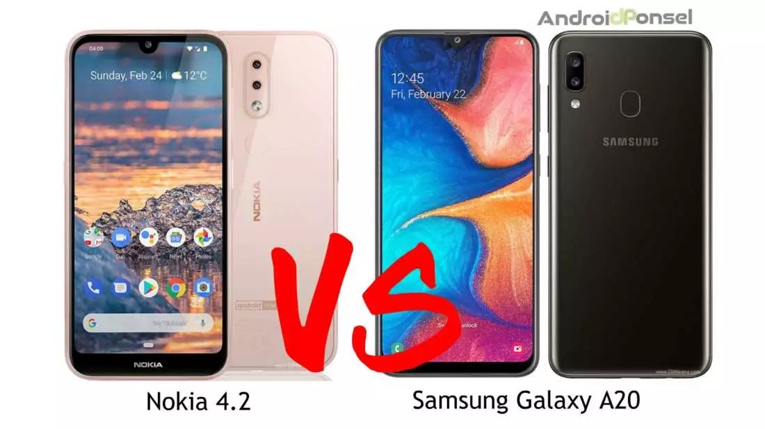 Nokia 4.2 VS Samsung Galaxy A20