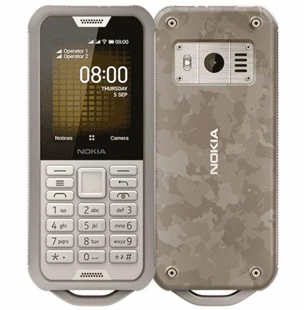 Nokia 800 - Feature Phone dengan Daya Tahan Tinggi