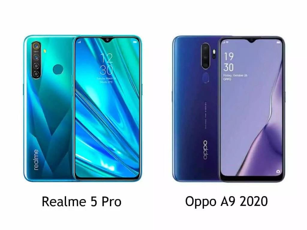 Realme 5 pro vs Oppo A9 2020