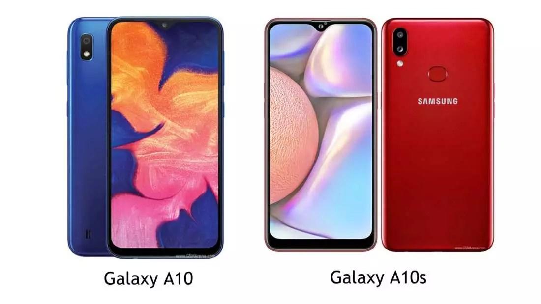 Samsung Galaxy A10 vs Galaxy A10s, Apa Saja Peningkatannya?