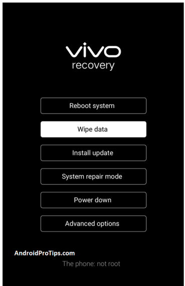 Vivo y91 recovery mode to hard reset without password