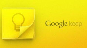 Google Keep e1363835224865 - Home
