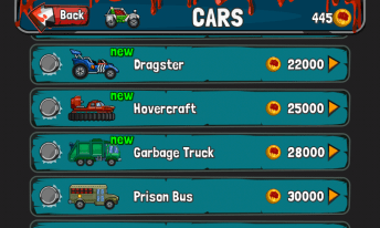 Zombie Road Trip New cars 2 - Zombie Road Trip update brings more vehicles, weapons, tilt control & more
