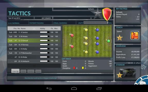 Premier Manager-Match Tactics