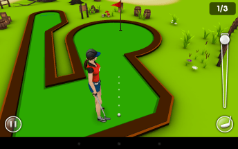 MiniGolfGame3D Female Player