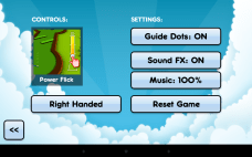 MiniGolfGame3D Power Flick Controls
