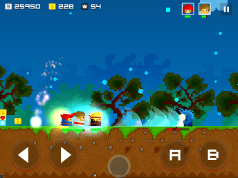Nakama Android Screenshot 4 - Retro 2D Platformer-Beat'em up game Nakama is now available at Google Play