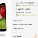 LG G2 free on AT&T