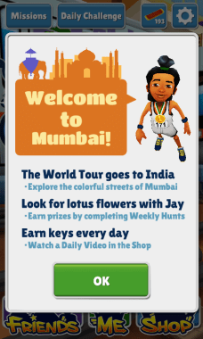 Subway Surfers Mumbai Jay -  Subway Surfers World Tour arrives at Mumbai