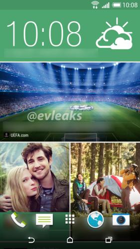 HTC M8 Homescreen