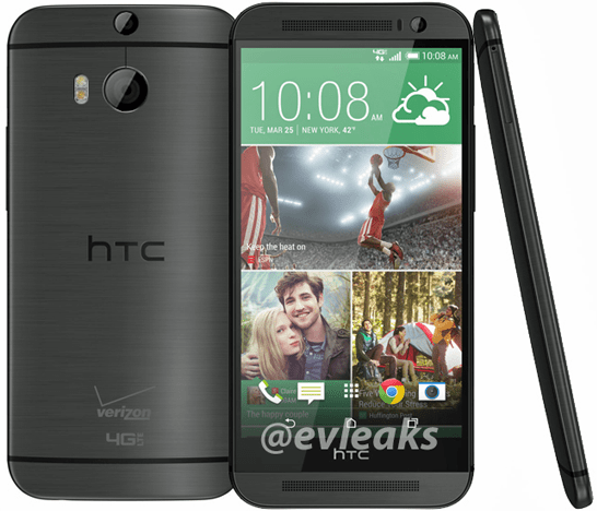 All new HTC one Verizon