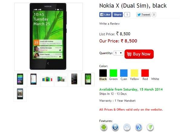 Nokia X The Mobile Store
