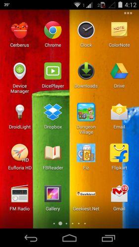 Apex Launcher Beta - Notification Badges in App Drawer