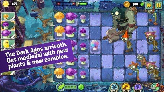 Plants vs Zombies 2 Dark Ages