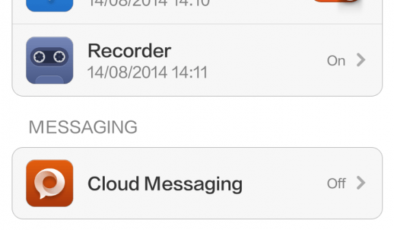 Xiaomi Cloud messaging off