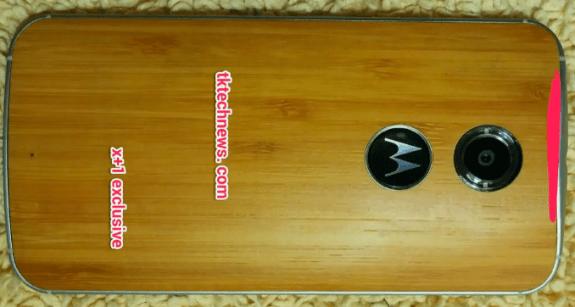 Motorola Moto X+1 Back