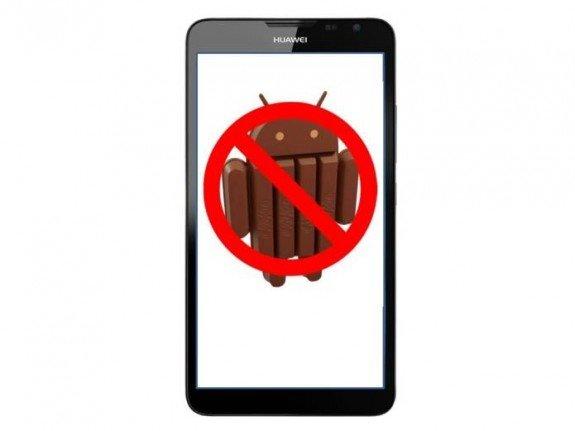 Huawei Ascend Mate 2 No KitKat