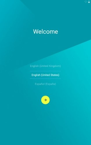 Nexus 7 2012 Wifi Android 5.0 Lollipop - Start Up Screen