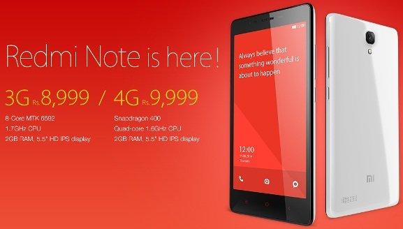 Redmi Note 3G - 4G