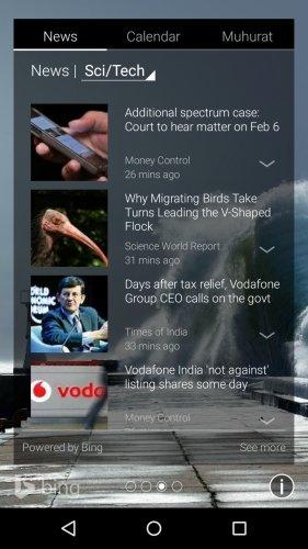 Picturesque Lock Screen News
