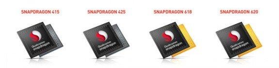 Qualcomm Snapdragon 415 424 618 620